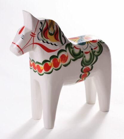 white dala horse