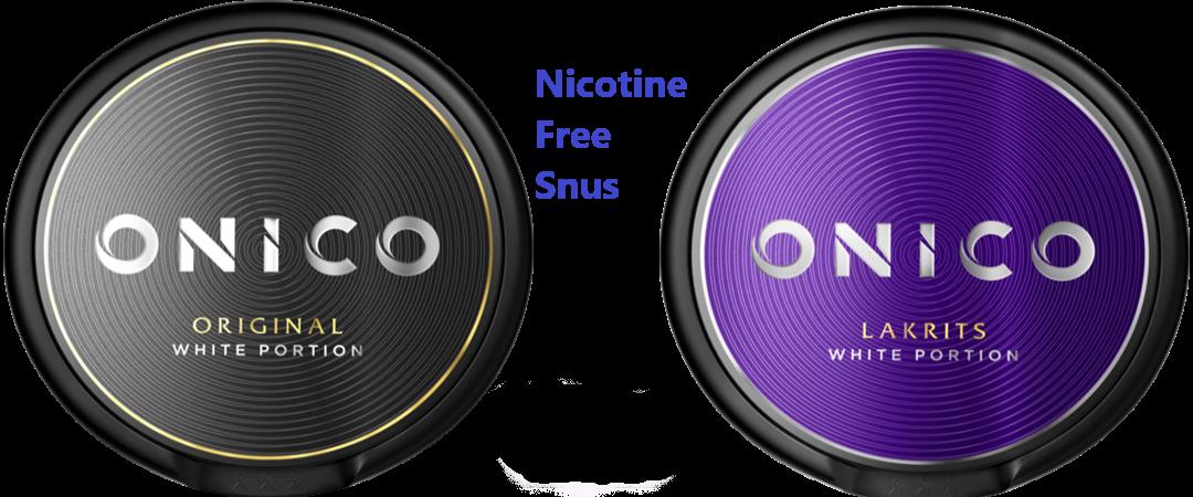nicotine and tobacco free snus